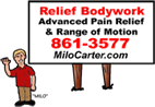 Relief Bodywork & Massage - Milo Carter