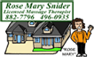 Rose Mary Snider - Licensed Massage Therapist